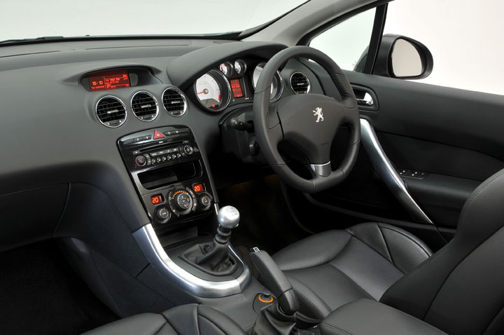 Peugeot 308 2008 interior images for Interior images