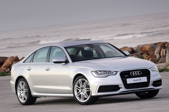 2011 Audi A6 front view