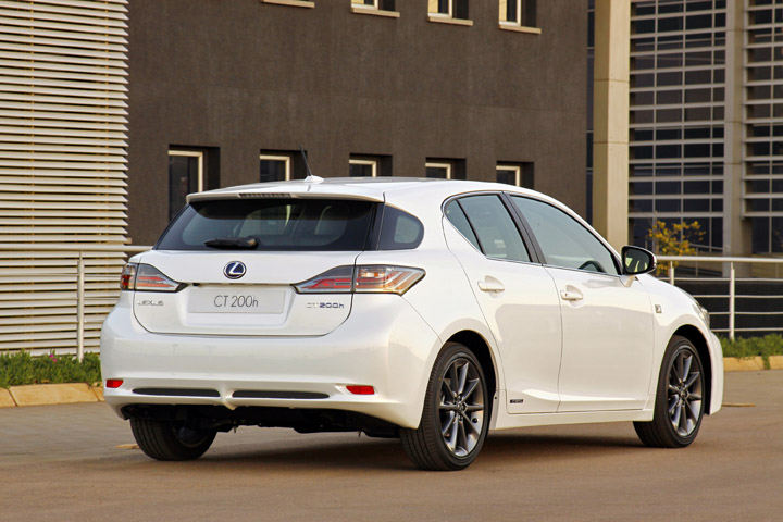 2012 Lexus CT200h rear