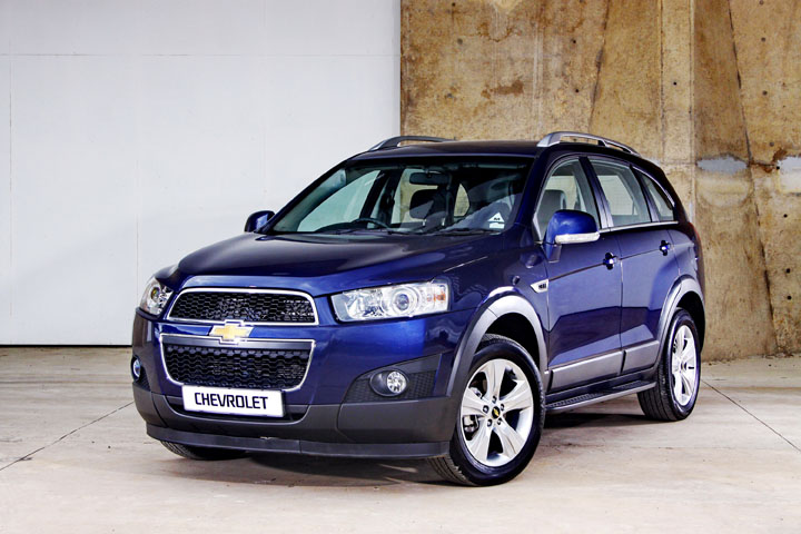 2011 Chevrolet Captiva front view