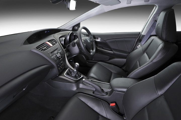 2012 Honda Civic Hatch interior