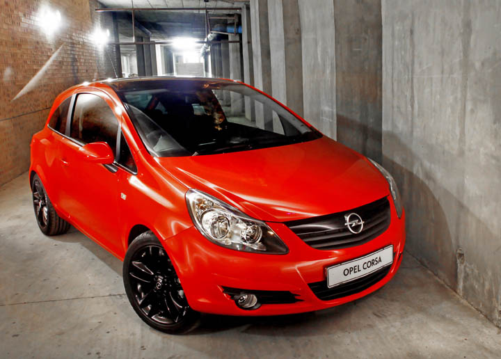 2011 opel corsa colour edition front view - Opel Corsa Color Edition 2015