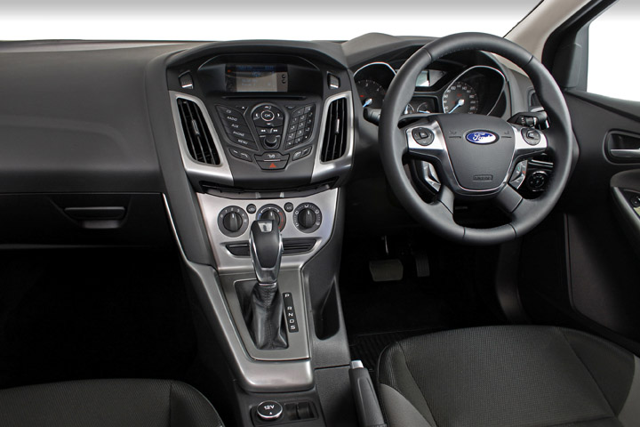 2012 Ford Focus sedan interior