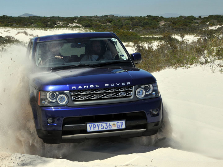 SA Roadtests 2010 Range Rover Sport 50 Supercharged