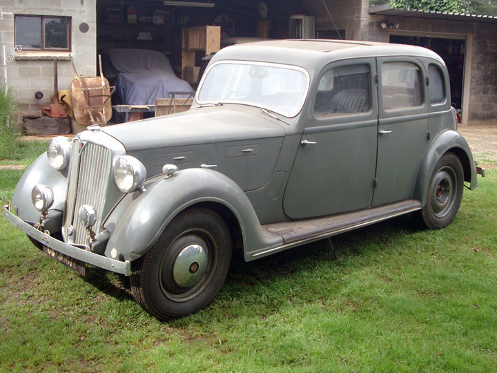 1947 Rover P2 unrestored
