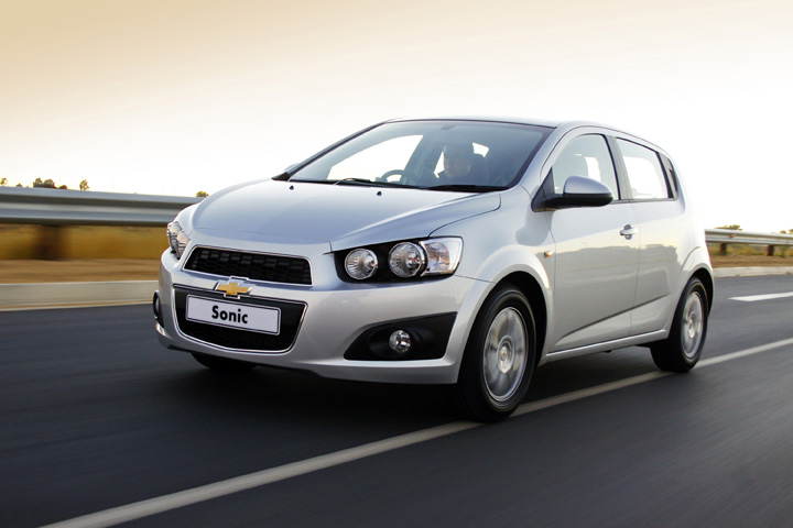 2012 Chevrolet Sonic front
