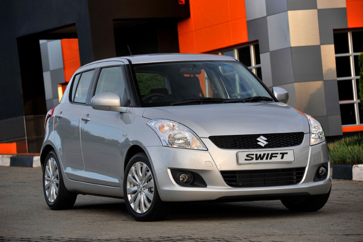 2011 Suzuki Swift front view