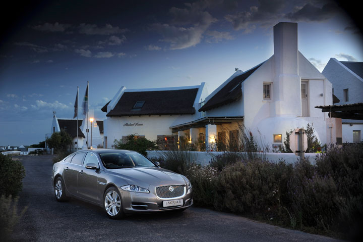 2011 Jaguar XJ, a B&B and a little fishing village on the West Coast