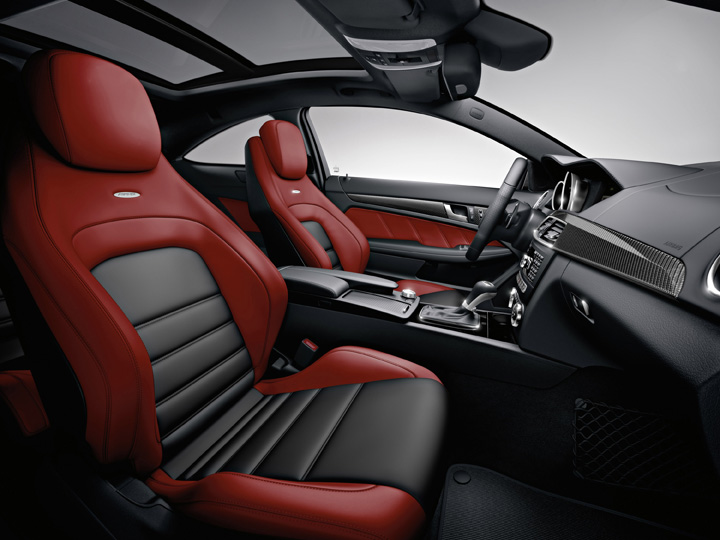 2012 Mercedes-Benz C63 AMG coupe interior